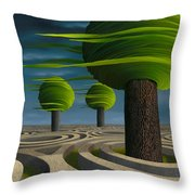 Tilia Arbora Throw Pillow