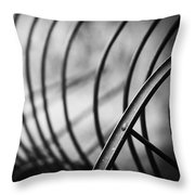 Tiller At The End Of A Day Throw Pillow