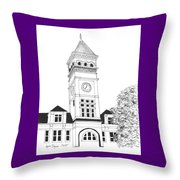 Tillman Hall Throw Pillow