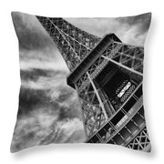 Tilted Tower Throw Pillow