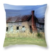 Wacky Shack Throw Pillow