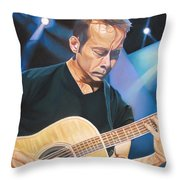 Tim Reynolds And Lights Throw Pillow