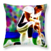 Tim Tebow Magical Tebowing 2 Throw Pillow