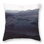 Timanfaya National Park Throw Pillow