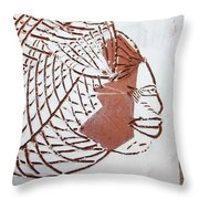 Time - Tile Throw Pillow
