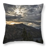 Time And Age Throw Pillow