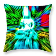 Time And Space  Throw Pillow