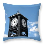 Time And Time Again Throw Pillow