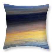 Time Throw Pillow by Catherine Lau