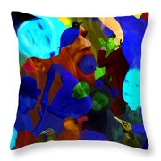 Time Does Not Stop. Throw Pillow