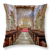 Time For Church Throw Pillow