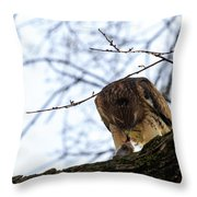Time For Dinner Throw Pillow