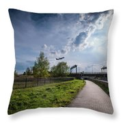 Time For Holidays Throw Pillow
