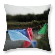 Time For Optimism Throw Pillow