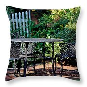 Time For Tea Throw Pillow