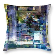 Time Framing Throw Pillow