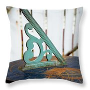 Time  From The Past Throw Pillow