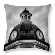 Time IIi Throw Pillow