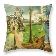 Time Immutable, Orions Belt, And The New Madrid Straight Throw Pillow