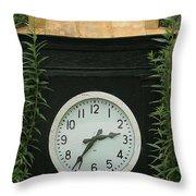Time In The Garden Throw Pillow