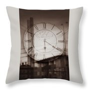 Time Is Infinite Throw Pillow