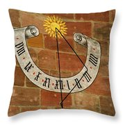 Time ... Throw Pillow