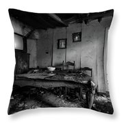 Time Keeps On Running Yesterday Living Room Throw Pillow