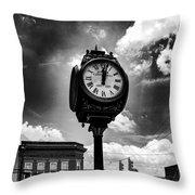 Time N Light Throw Pillow