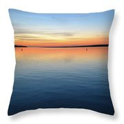 Time Of Dawn  Throw Pillow
