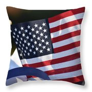Time Of Remembrance  Throw Pillow