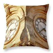 Time On My Side Throw Pillow