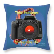 Time Passages Logo Throw Pillow