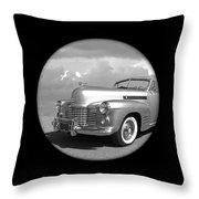 Time Portal - '41 Cadillac Throw Pillow