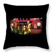 Time Sings A Melody Throw Pillow