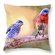 Time Spent Together Throw Pillow