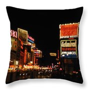 Time Square 1956 Throw Pillow