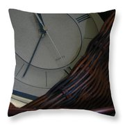 Time Standing Still Throw Pillow