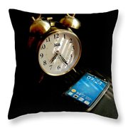 Time Then And Now Throw Pillow