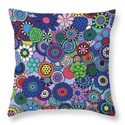 Time To Bloom Throw Pillow