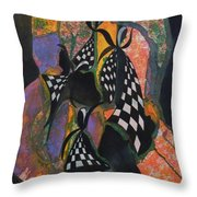 Time To Dance Throw Pillow