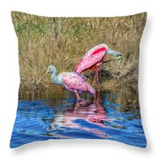 Time To Get Ready For Dinner Throw Pillow