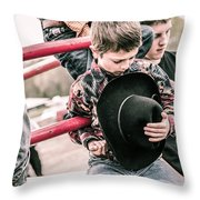 Time To Honor Throw Pillow