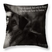 Time To Learn Throw Pillow