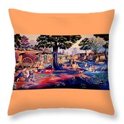 Time To Relax And Have Some Fun Throw Pillow