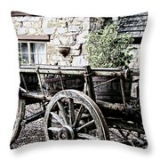 Time To Rest Throw Pillow