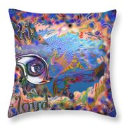 Time To Rock Throw Pillow