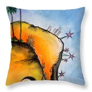 Time Travel Is Possible. Irrational Space Throw Pillow