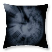 Time Vii Throw Pillow