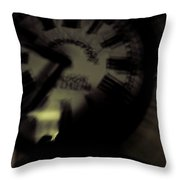Time Viii Throw Pillow