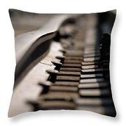 Time Warp Throw Pillow